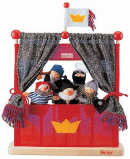 Kathe Kruse Pirate Finger Puppet Theater