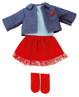 Clothing for Mini It's Me Doll/School Set