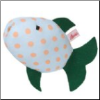 Kathe Kruse Squirting Fish with Green Fin (SKU: 82323)