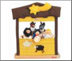 Kathe Kruse Nativity Finger Puppet Theater (SKU: 60459)