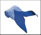 "Fin towel ""Mermaid"" Blue Kathe Kruse (SKU: 836219)"