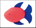 Kathe Kruse Squirting Fish with Blue Fin (SKU: 82321)