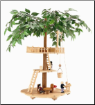 Basic Tree house w/ Accessories